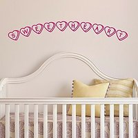 DeStudio Sweetheart Sweets Love Wall Sticker Decal Wallart Home Wall Sticker Size (60cms X 60cms)