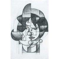 Head Of Germaine Raynal By Juan Gris - Museum Canvas Print
