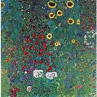 Garden With Crucifix 2_Lg By Klimt - Museum Canvas Print