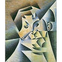 Portrait Of The Mother Of The Artist By Juan Gris - Canvas Art Print