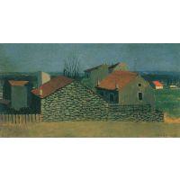 Houses In Puteaux By Felix Vallotton - Fine Art Print