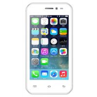 Intex Aqua 3G+ Smart Mobile Phone - (White)