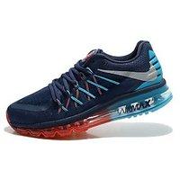 Nike Air Max 2015 New Dark Blue Red Green Mens Sports Shoe