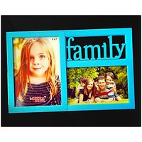 Two Photos Collage Photo Frame| Colour As Per Availability.