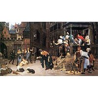 The Return Of The Prodigal Son By Tissot - Canvas Art Print