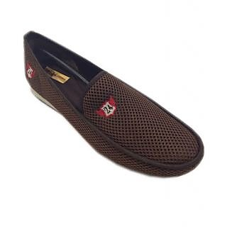 24 Casuals Loafer Spider Coffee Brown Shoes 60% Limited Offer