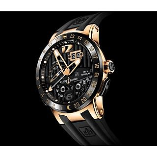 El Toro Black Swiss ETA Mens Luxury Watch