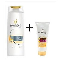 Pantene Pro-V Lively Clean180ML+Free Pantene Hair Fall Control 35 ML Conditioner
