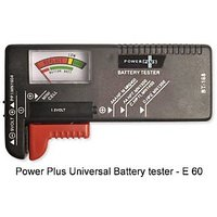 Power Plus Power Plus Universal Battery Tester, Must Have For Every Home - E60