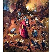 Temptation Of St. Anthony By Bosch - Fine Art Print