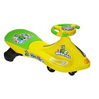 Asian Magic Car Ride-on With Music And Light (Yellow, Green)