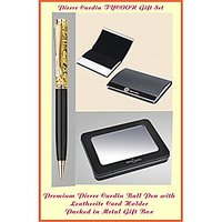 PIERRE CARDIN TYCOON SET OF EXCLUSIVE BALL PEN & CARD HOLDER