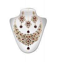 Panini Alloy Necklace Set With Mangtikka_2886