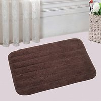 Natural Quality Water Absorbent  Cotton Bathmat With Latex Rubber Backing