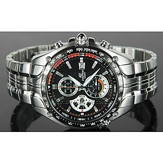 Casio Edifice EF-543 D-1AV Casio Edifice Mens Chronograph Watch (1/10th Sec Chrono)