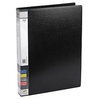 Trio 05F Ring Binder FC (Set Of 2, Black)