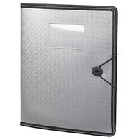 Trio C400 Conference Gripper Folder With Pad A4 (Set Of 2, Grey)