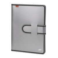 Trio C450 Conference Italiano File With Pad A4 (Set Of 2, Grey)