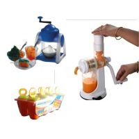 Mastercool Kwality Kulfi Maker Or Ganesh Juicer And  Gola Maker Free Party Pack