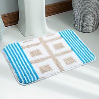 Soft Quality Water Absorbent Anti Slip  Micro Bathmat With Latex Rubber Backing - 74618546