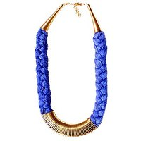 Anshul Fashion Graveful Metal Thread Necklace