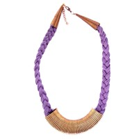 Anshul Fashion Metal Thread Necklace