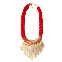 Anshul Fashion Designer Party  Thread Necklace
