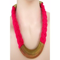 Anshul Fashion Party Purpose Metal Necklace