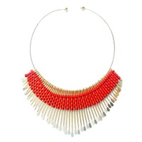 Anshul Fashion  Wedding Party Thread Metal Necklace