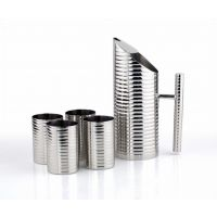 HomeScapes Stainless Steel Galaxy Heavy Lemon Set