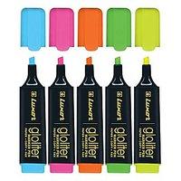 Luxor Gloliter Hi -lighter 5 Colour (SET OF 2)