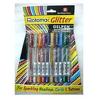 ROTOMAC Glitter Gel Pen Pack Of 10