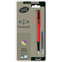 Parker Beta Standard Fountain Pen(Blue)