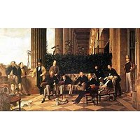 The Circle Of The Rue Royale By Tissot - Canvas Art Print