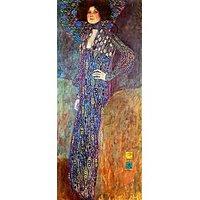 Portrait Of Emily Floge By Klimt - Fine Art Print