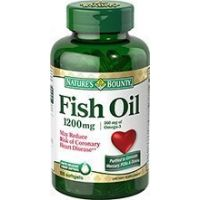 Nature's Bounty Fish Oil, 180 Softgel