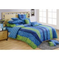 Swayam Double Comforter In Blue
