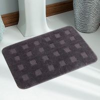 Soft Quality Water Absorbent Anti Slip  Micro Bathmat With Latex Rubber Backing - 74721974