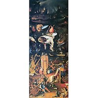 The Garden Of Delights, Hell By Bosch - Fine Art Print