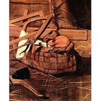 Adoration Of The Shepherds Detail By Caravaggio - Canvas Art Print