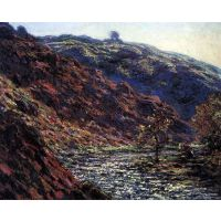 Gorge Of The Petite Creuse By Monet - Fine Art Print