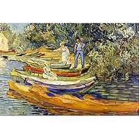 The Riverbank, La Grenouillere By Van Gogh - Fine Art Print