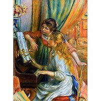 Girls At The Piano - Fine Art Print