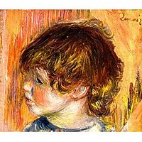 Head Of A Young Girl - Fine Art Print