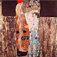 The Three Ages Of A Woman By Klimt - Fine Art Print