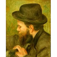 M Bernard Man With The Black Hat - Fine Art Print