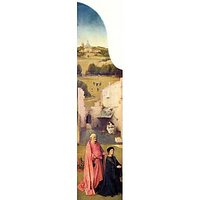 Epiphany-Triptych Of St. Peter And Donors By Bosch - Museum Canvas Print