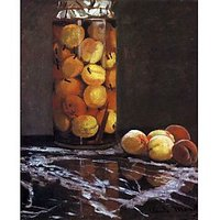 The Peach Glass By Monet - Fine Art Print
