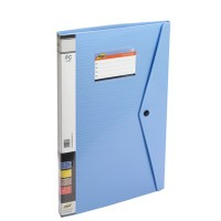 Trio 530DBF Display File Resume 30 Pockets FC (Set Of 2, Blue)
