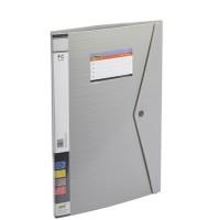 Trio 530DBF Display File Resume 30 Pockets FC (Set Of 2, Grey)